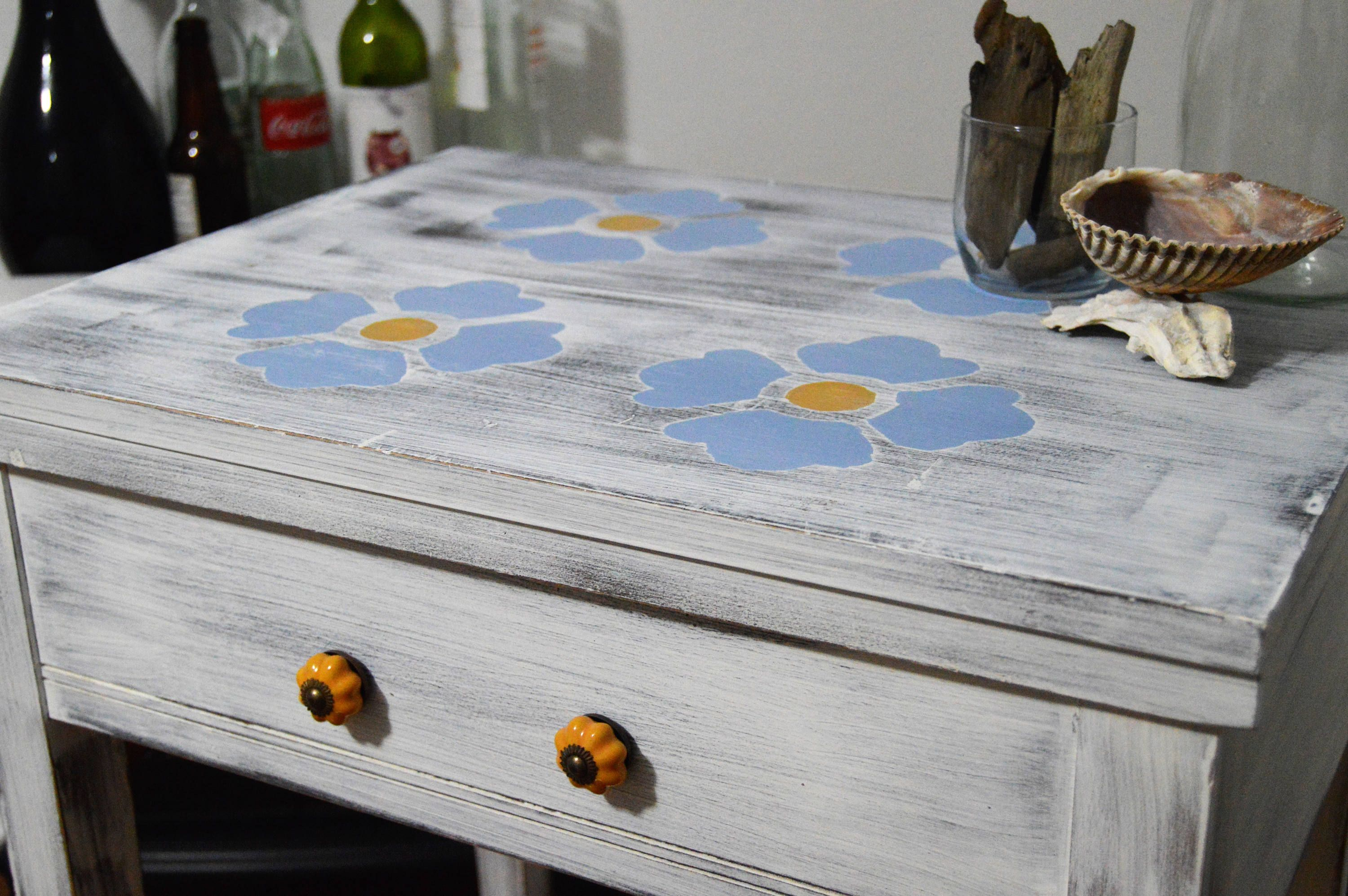Decorative Sewing Machine Table by ThePaintedBarnDesign on Etsy