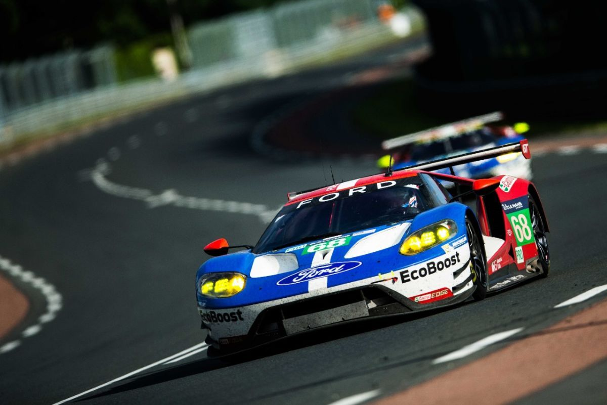 Ford Wins At 24 Hours Of Le Mans Ford Gt Ford Motorsport Le Mans