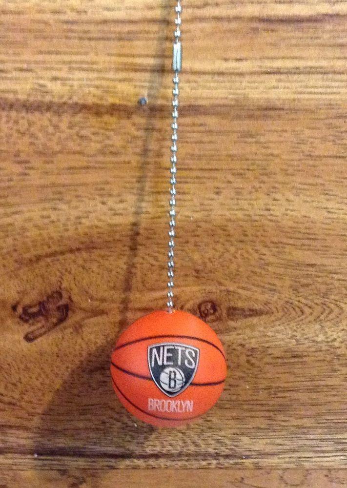 Brooklyn Nets Plastic Basketball Ceiling Fan Pull, Handmade Ceiling Fan  Pullu2026