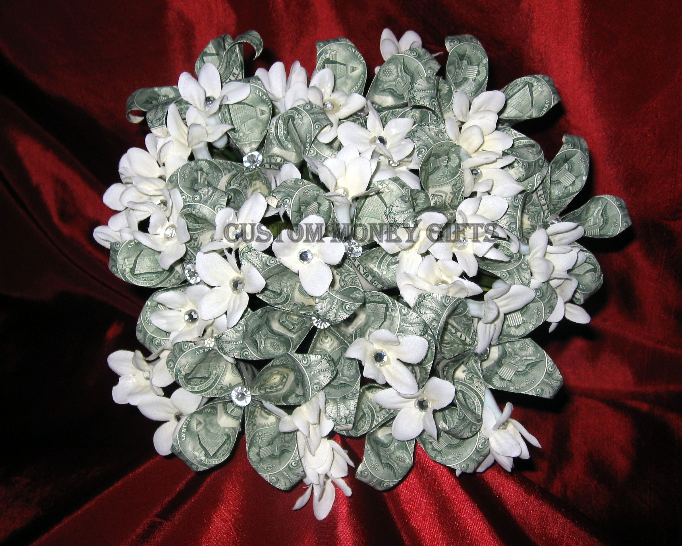 Money Flower Bouquet. Available upon request with any denomination ...
