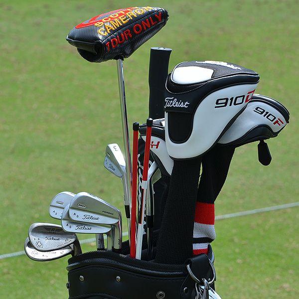 Adam Scotts Golf Bag At The Open 2012 Pasture Pool