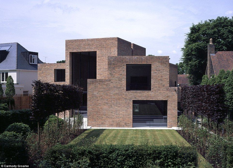 The striking design of Highgate House caught