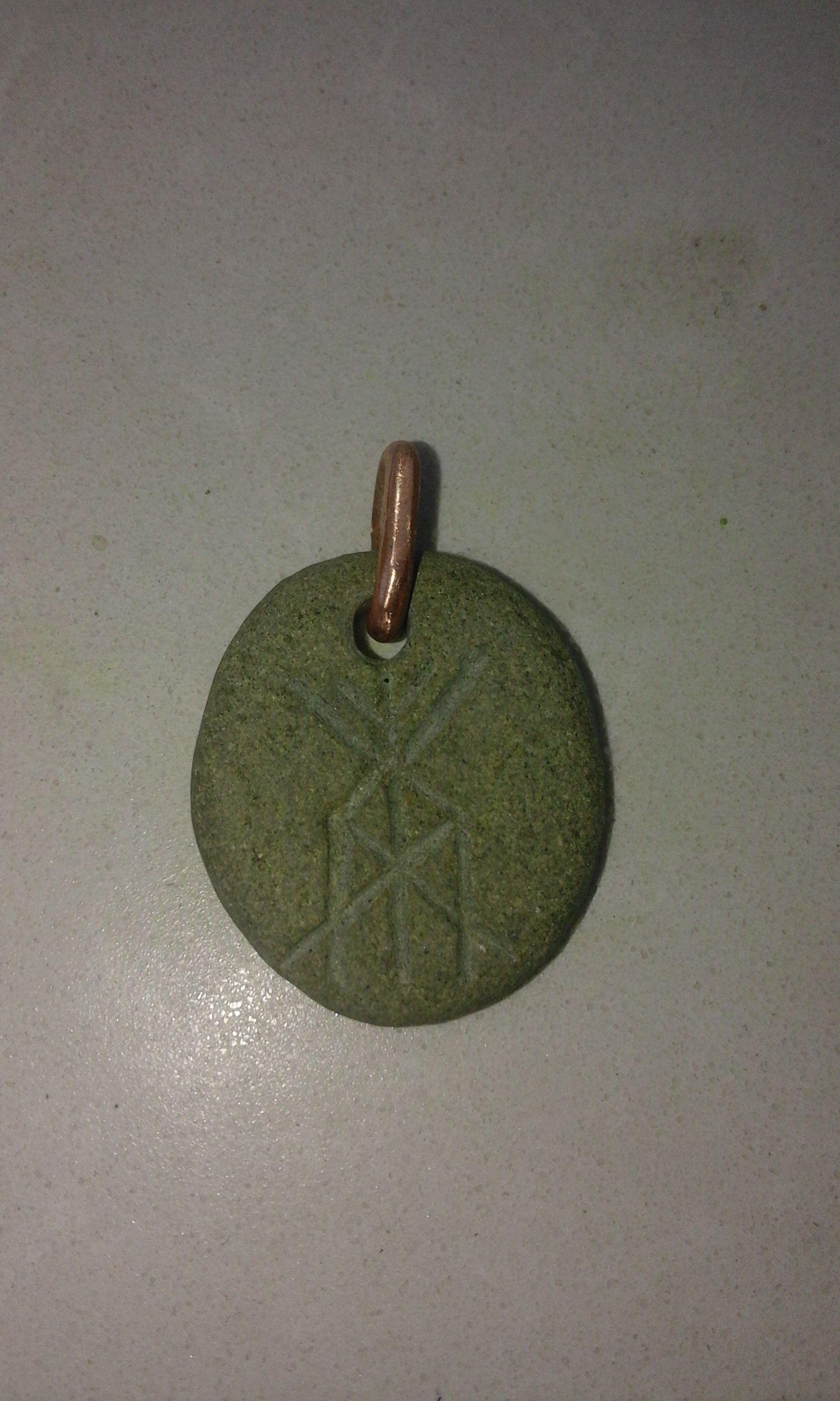 Rune Symbol For Health And Vitality Ancient Symbols Stones
