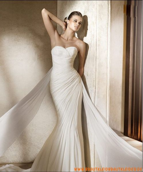 Sexy Brautkleid aus Taft im Meerjungfrauenstil | BRIDAL COLLECTION ...