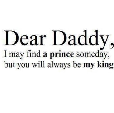 Forever daddy!!!♥