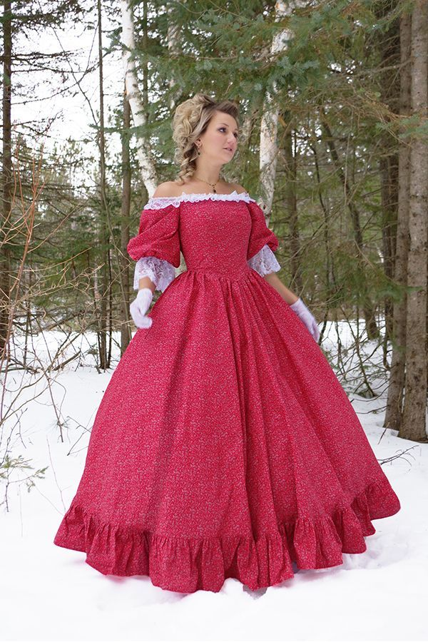 Victorian Style Ball Gown in 2020 Ball gowns, Victorian