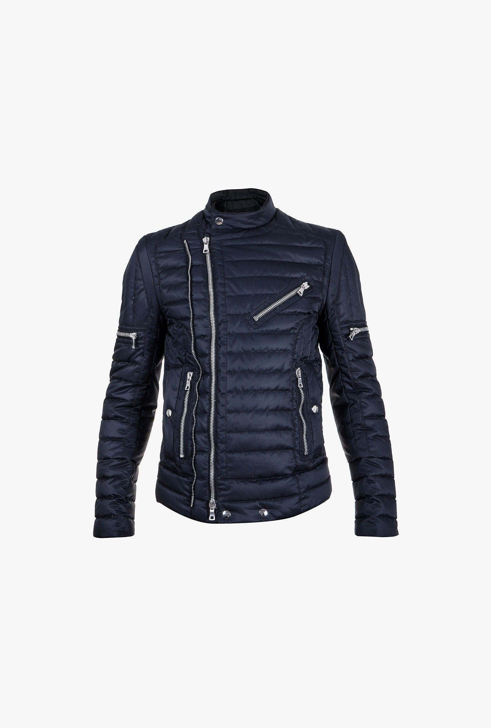 Balmain - Quilted down-filled jacket - Men's down jackets | Milky ...