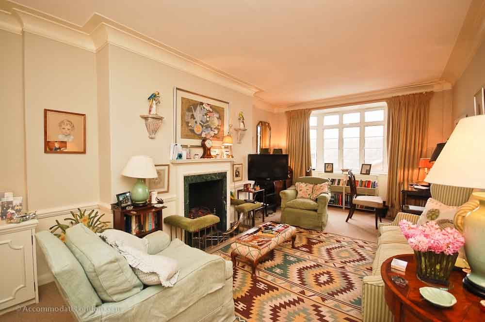 Buckingham Palace Private Apartments The Sitting Room Has Comfortable Chairs A Sofa Fireplace And Large