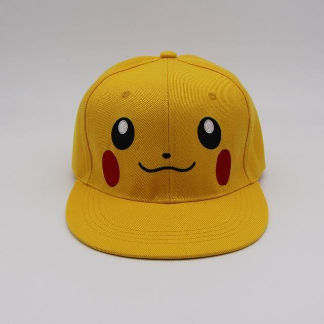 Damenmode Fashion Anime Cartoon Pokemon Pikachu Baseball Caps For Parent-child Adult Children Hip Hop Hats Sun Hat Outdoor Shade Cap
