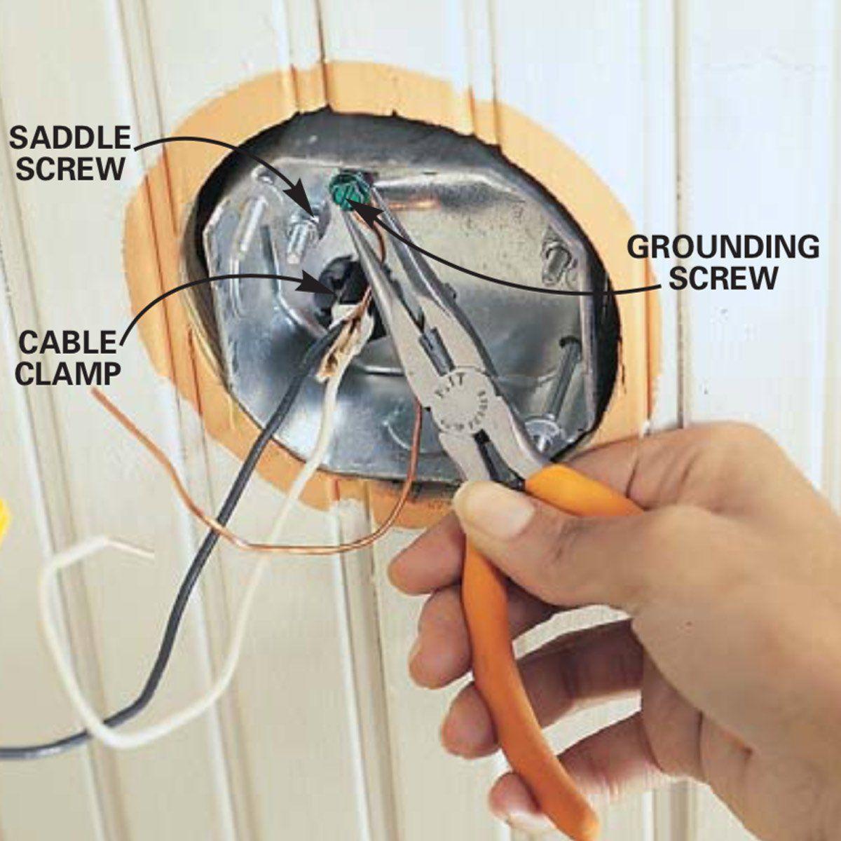 How To Install A Ceiling Fan Mount Bracket Electrical Box Ceiling Fan Makeover Ceiling Fan Ceiling Fan Installation