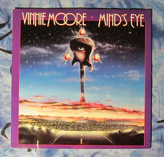 Vinnie Moore Mind S Eye 1986 Heavy Metal Lp Vinyl Record 14 Heavy Metal Album Art Mind Blown