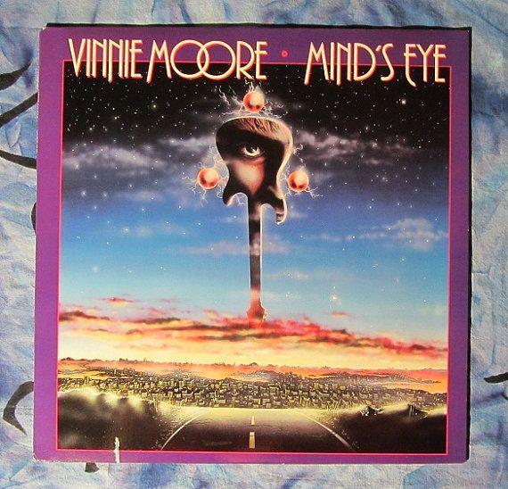 Vinnie Moore Mind S Eye 1986 Heavy Metal Lp Vinyl Record 14 Heavy Metal Album Art Mind Blown