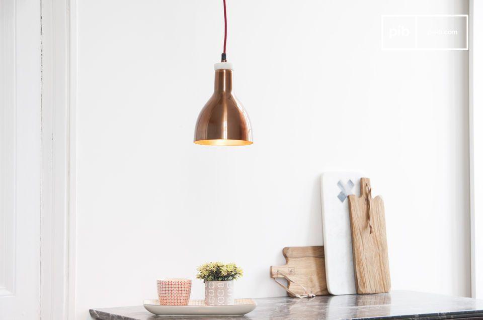 Lampada In Rame Design : Lampada design bidart in rame ceiling lights retro lamp and