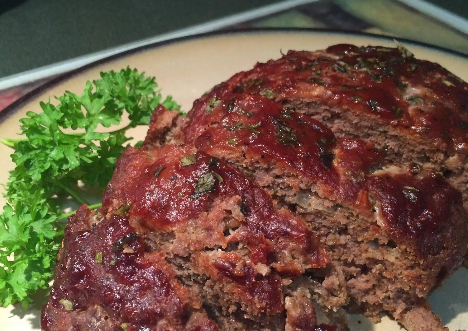Barbecue Bison Meatloaf Recipe By Cooljewel Recipe Bison Meatloaf Recipe Bison Meatloaf Bison Recipes
