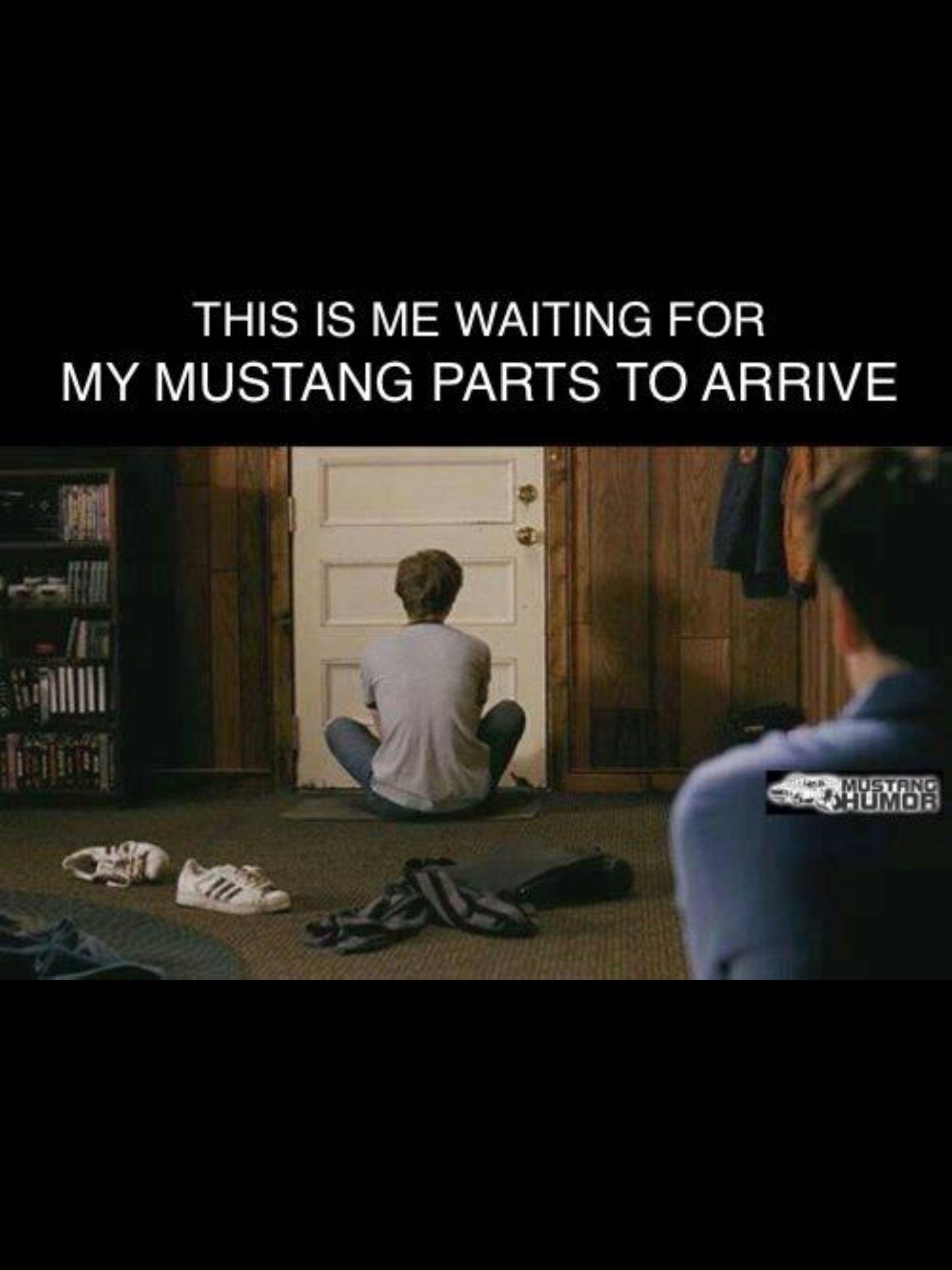This Is Me Waiting For Car Parts Car Memes Car Memes Car
