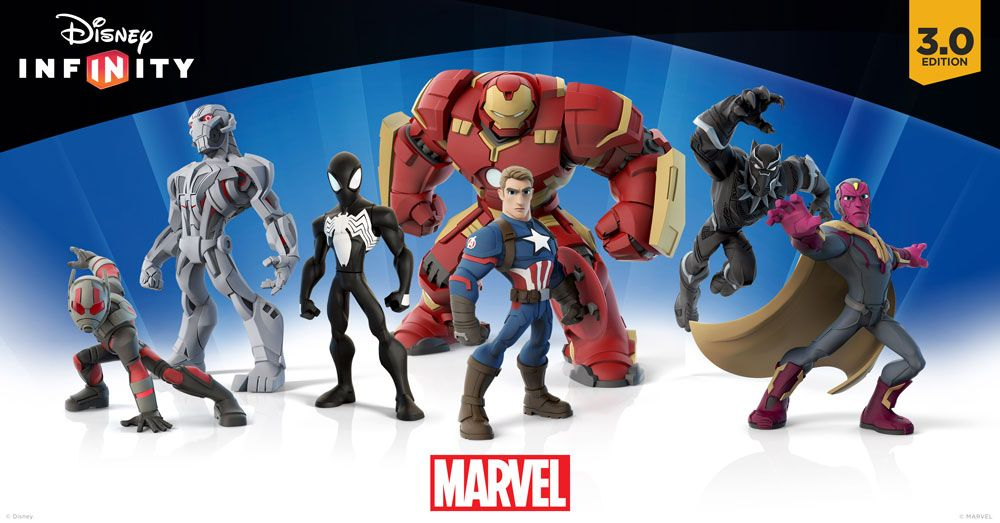 infinity 3 0. Disney Infinity 3.0 Ant-Man Black Panther Vision \u0026 Captain America Preview 3 0 T