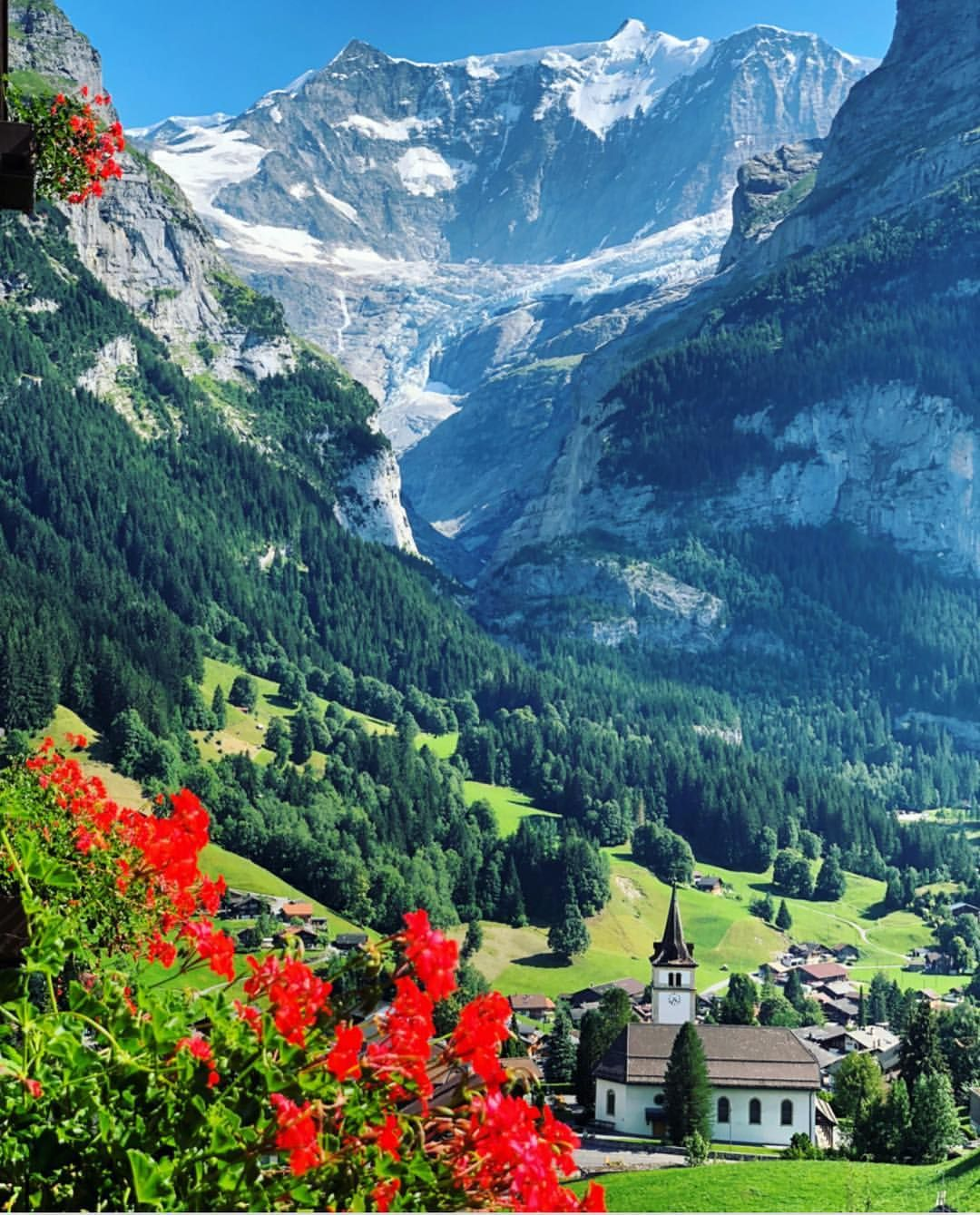 Switzerland Vacations On Instagram Grindelwald Vibes Seen By Maria Je Suis Maria S Beautiful Landscapes Beautiful Nature Nature