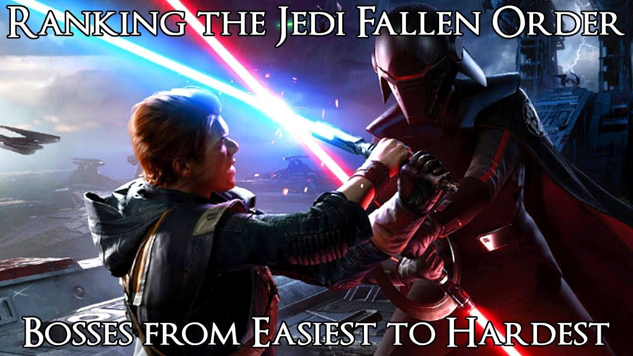 Ranking The Star Wars Jedi Fallen Order Bosses From Easiest To