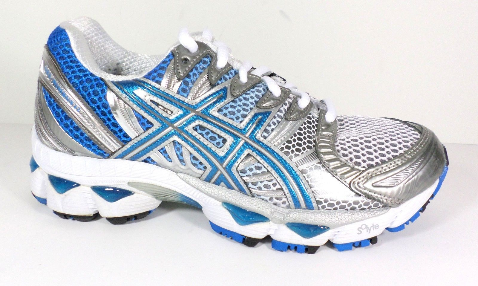 Asics Women's Running Shoes GEL-Nimbus 12 Titanium/Maui Blue/Lightning