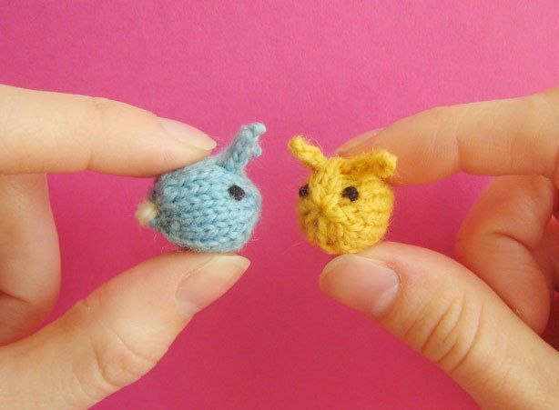 Teeny Toy Knitting Patterns Amigurumi Pinterest Knitting