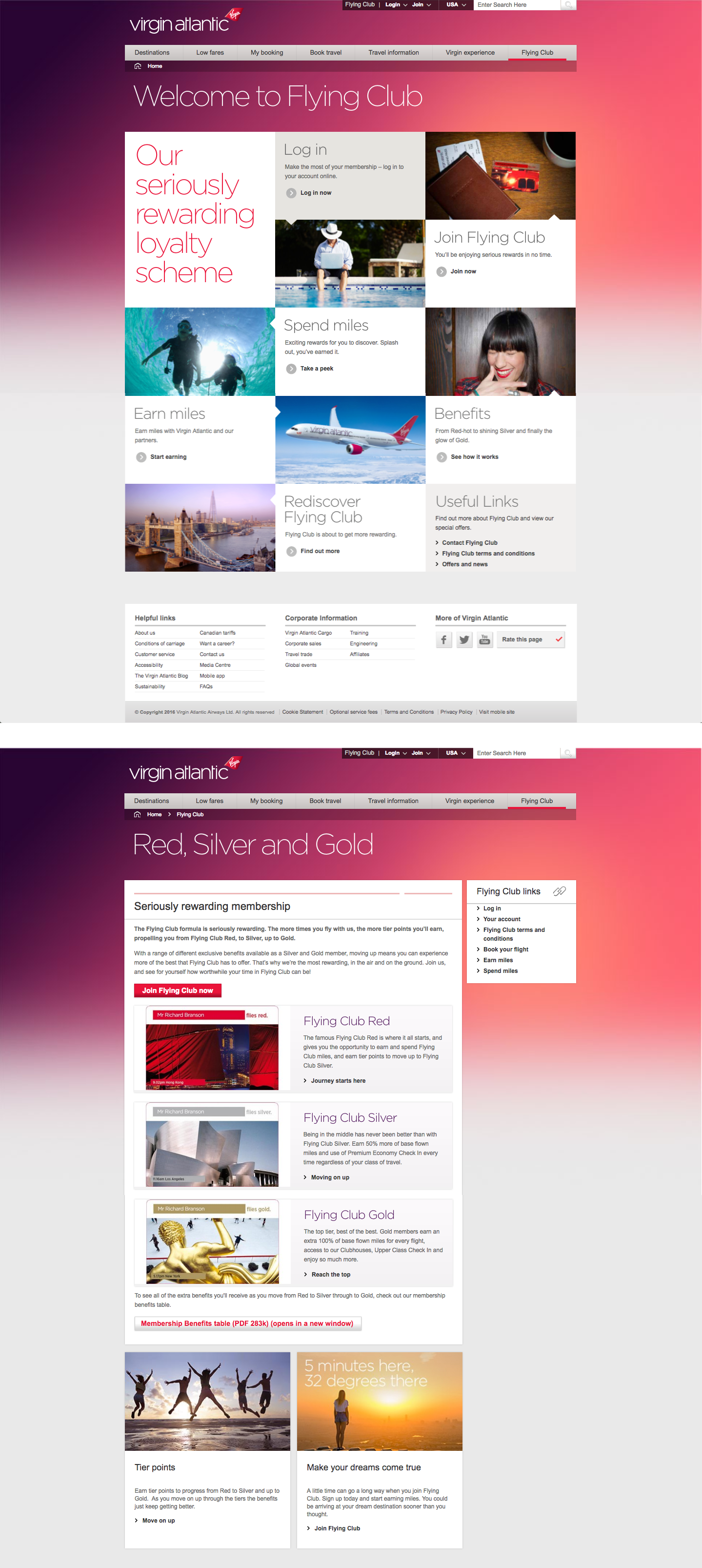 Virgin Atlantic S Flying Club Has 3 Levels To Give Traveler S The