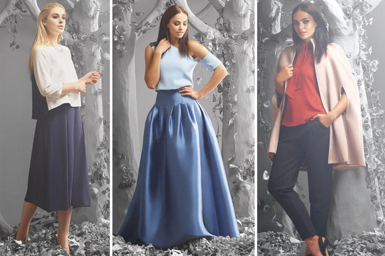كتالوج فيمى ناين الجديدة موسوعة High Waisted Skirt Women Fashion