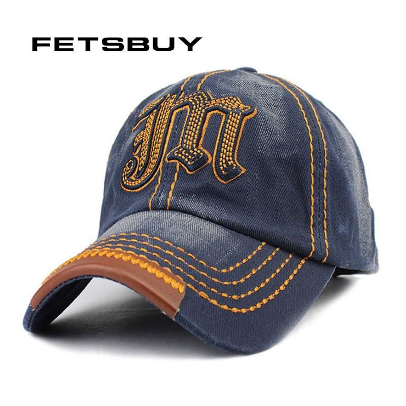 2c3b9079aee FETSBUY Wholesale Baseball Cap Snapback Hat Spring Cotton Caps Hip Hop Wash  Fitted Cheap Sun Set Hats For Men Women Summer Cap. Yesterday s price  US   10.00 ...