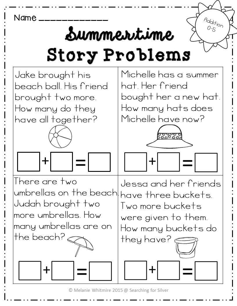 Summer Math Packet Kindergarten Math Packets Summer Math Packet Summer Math
