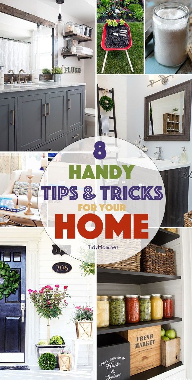 Tips and Tricks for Your Home | Life hacks, Diy creative ideas and ...