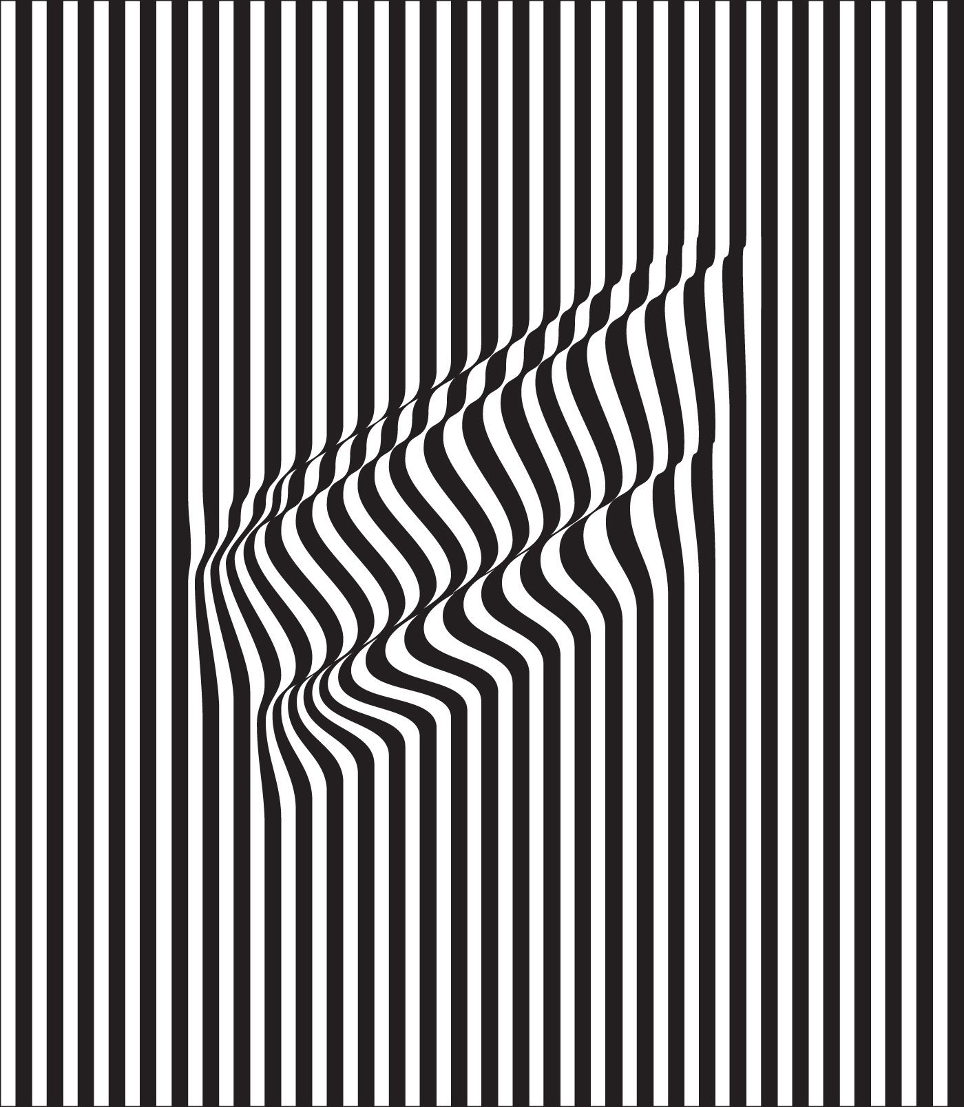STRIPES (black) by Charles Williams (London, UK) 201-07 ...