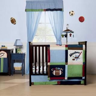 Hockey Baby Nursery Hockey And Basketball Baby Boys Nursery Crib