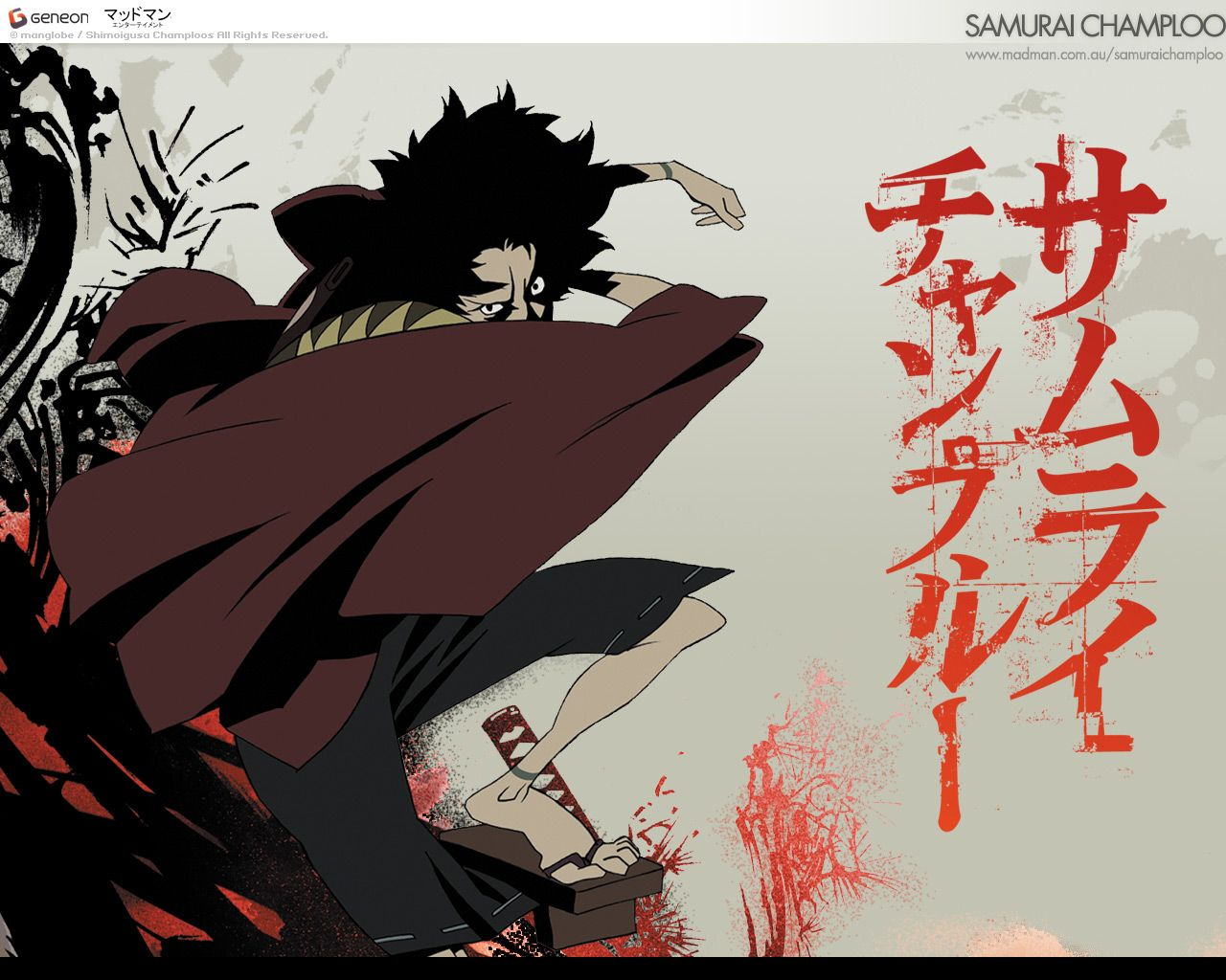 Samurai Champloo Samurai Champloo Samurai Anime Canvas Art
