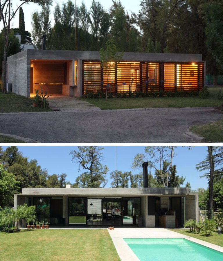 15 Examples Of Single Story Modern Houses From Around The World Contemporary House Plans Best Modern House Design Modern House Exterior