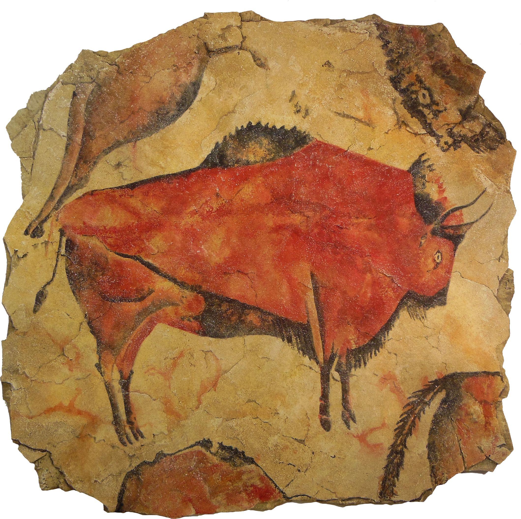 Altamire Bison Altamira Cave Village Of Antillana Del Mar Cantabria Spain 16 000 To 9 000 B C Cave Paintings Prehistoric Cave Paintings Painting
