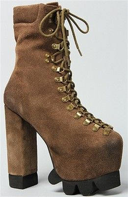 Jeffrey Campbell The Kick It Boot Taupe