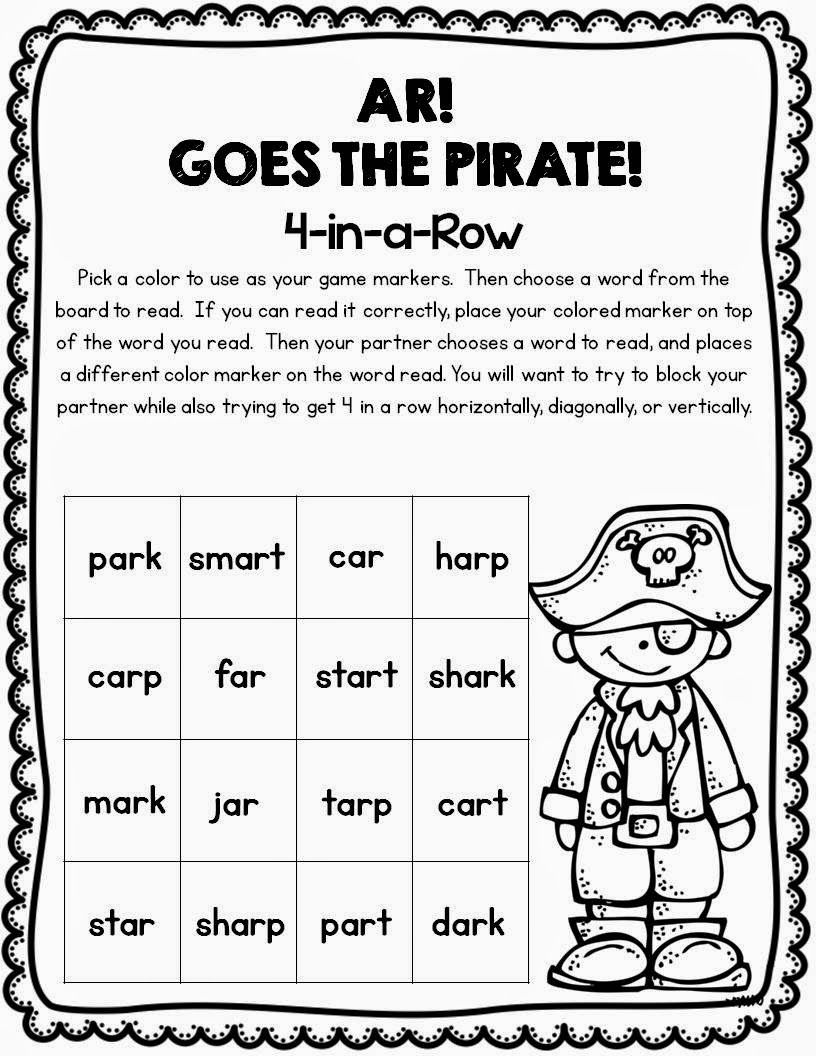 ar Freebie partner game by First Grade and Fabulous | Vowels ...