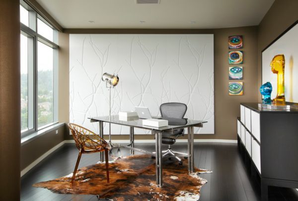 15 Modern Home Office IdeasAcrylics Modern home offices and