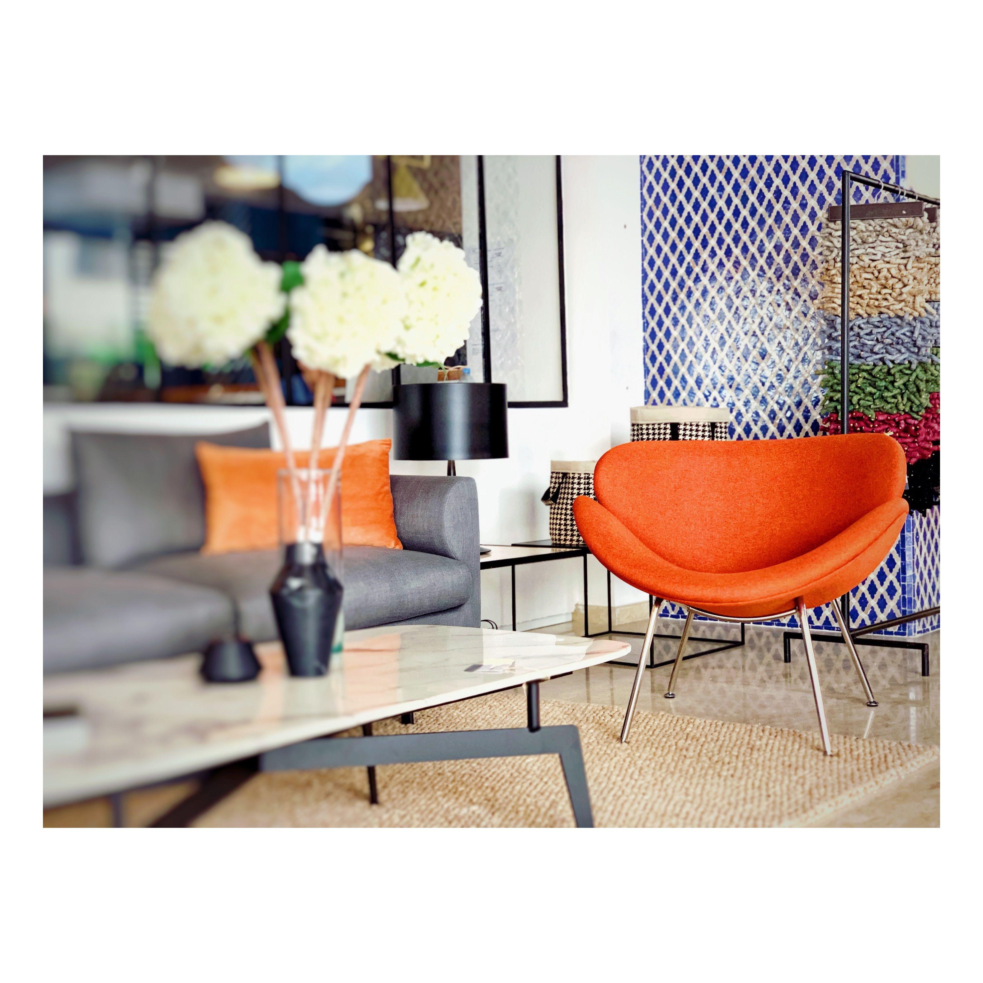 Retroplus Casablanca Orange Slice Inspirztion Meuble Design Mobilier De Salon Design