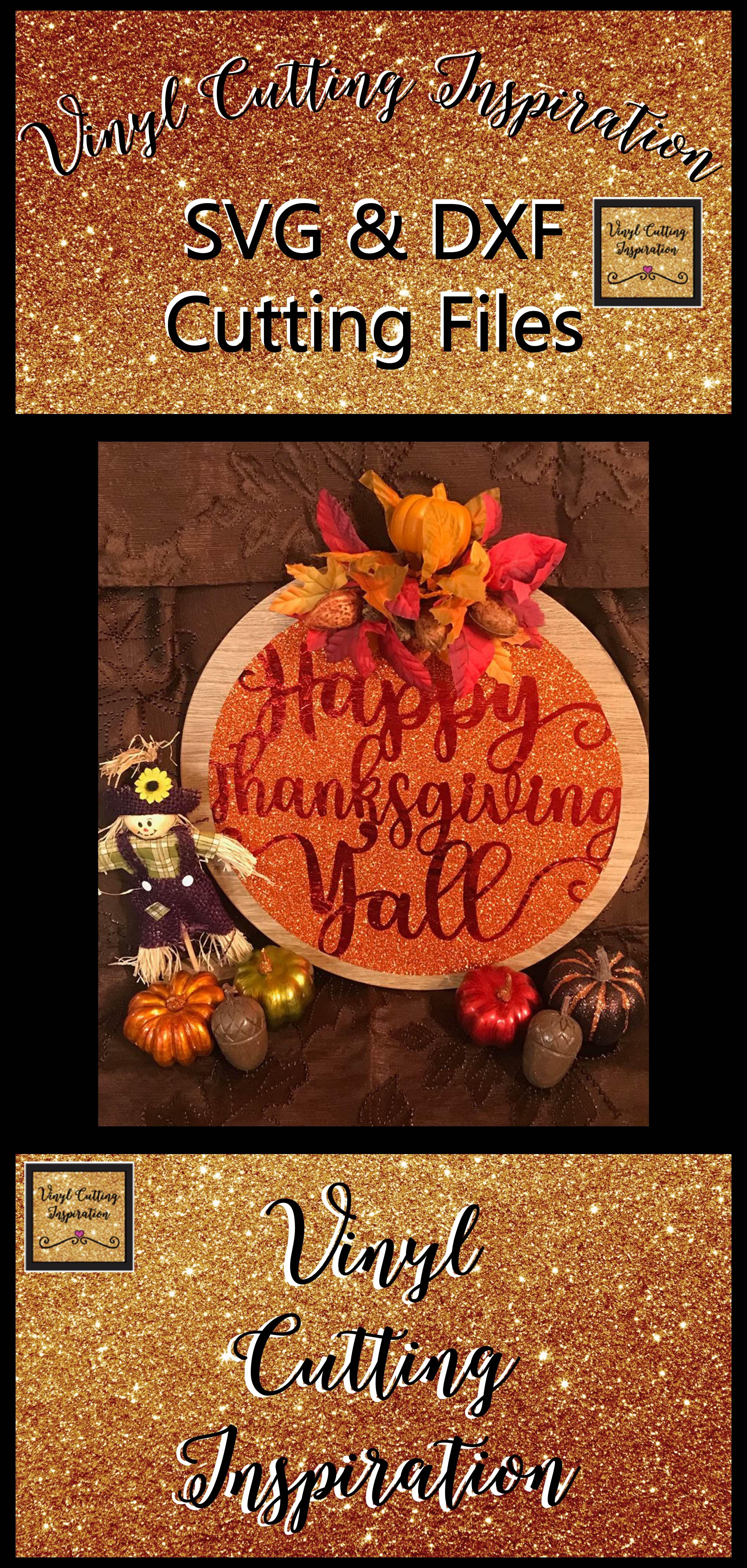 Happy Thanksgiving Yall >> Happy Thanksgiving Yall Svg Happy Thanksgiving Svg Thanksgiving