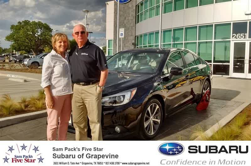 Congratulations Bill Ginny On Your Subaru Legacy From Bill