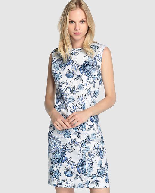cf43cce97b3 Vestido de mujer Antea con estampado de flores | El corte Ingles ...