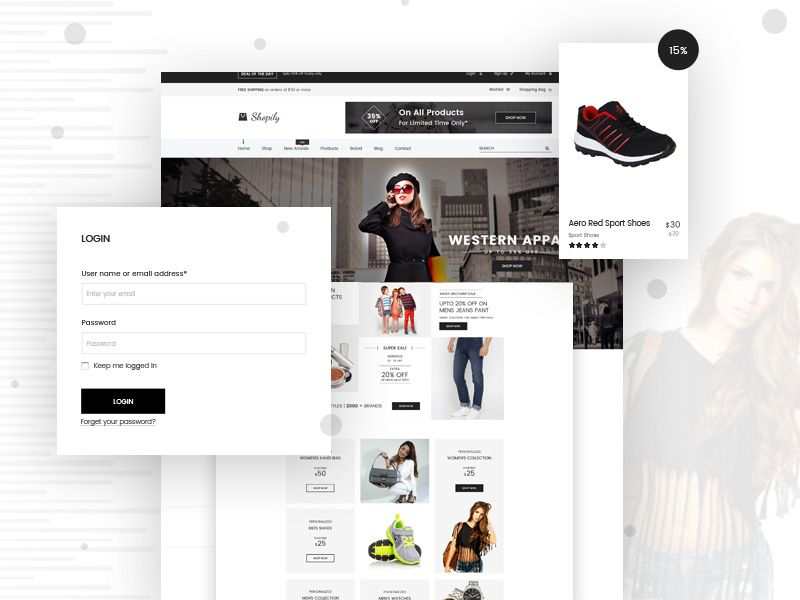 Modern Ecommerce Website Design Ecommerce Website Design Ecommerce Website Design