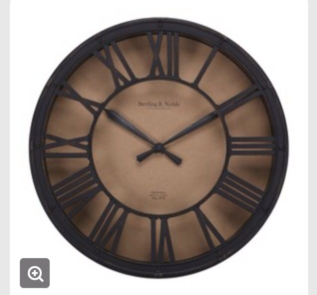 target clocks living room images of rooms with grey walls http m com p threshold wall clock antique bronze a for downstairs
