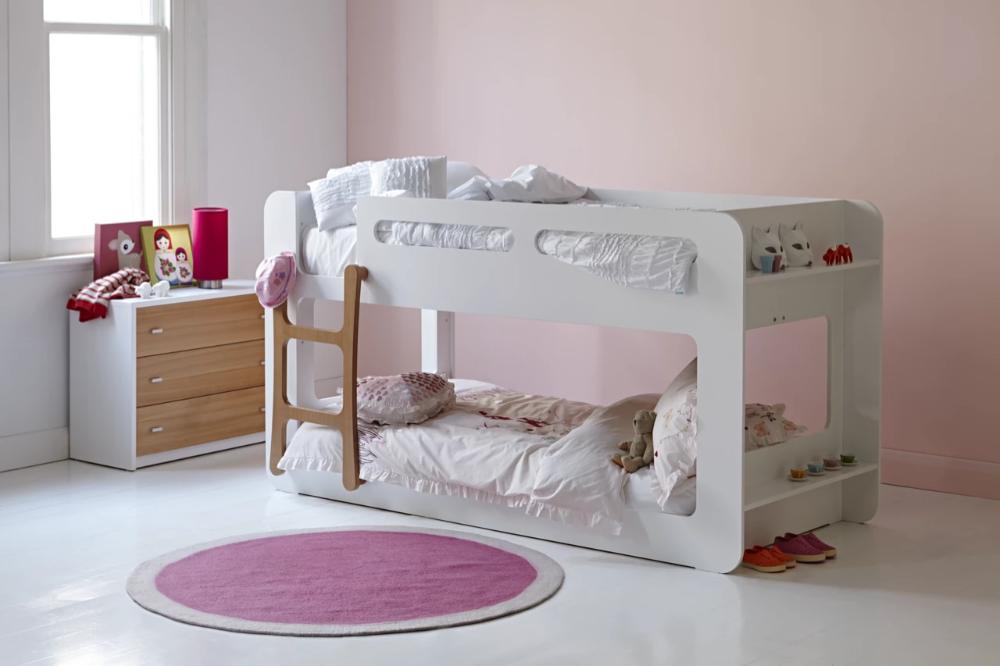 Mini Me Compact Bunk Frame Kid Beds Kids Bedroom Toddler Bunk Beds