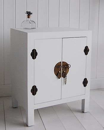 Small White cabinet - Bedside Table, Lamp Table | Home | Pinterest ...