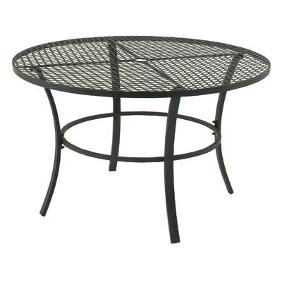 Seeking Metal Round Outdoor Bistro Table By Cole Grey Furniture