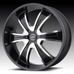 American Racing AR894 894 Gloss Black Machined Face Custom Rims Wheels
