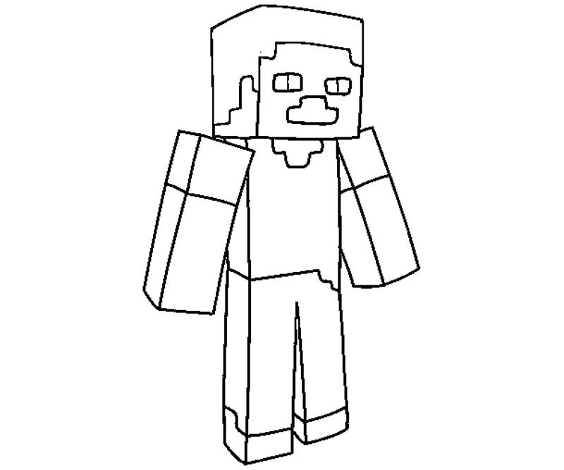 minecraft printable colouring sheets # 43