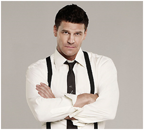 David Boreanaz aka Seeley Booth from Bones!
