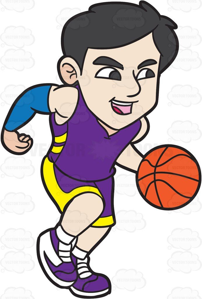 A Male Basketball Player Dribbling The Ball Basketball Players Basketball Basketball Theme
